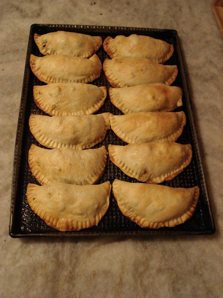 Empanadas porteñas al horno