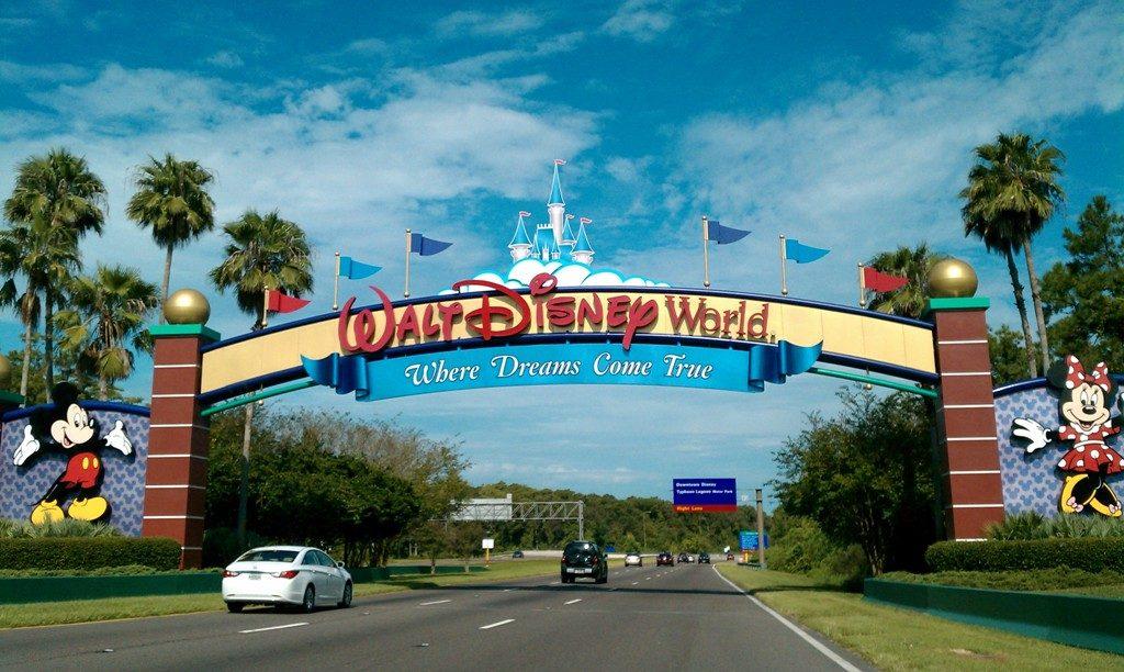 Entrada al complejo recreacional de Walt Disney World