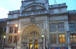 Entrada principal del Museo Victoria y Alberto
