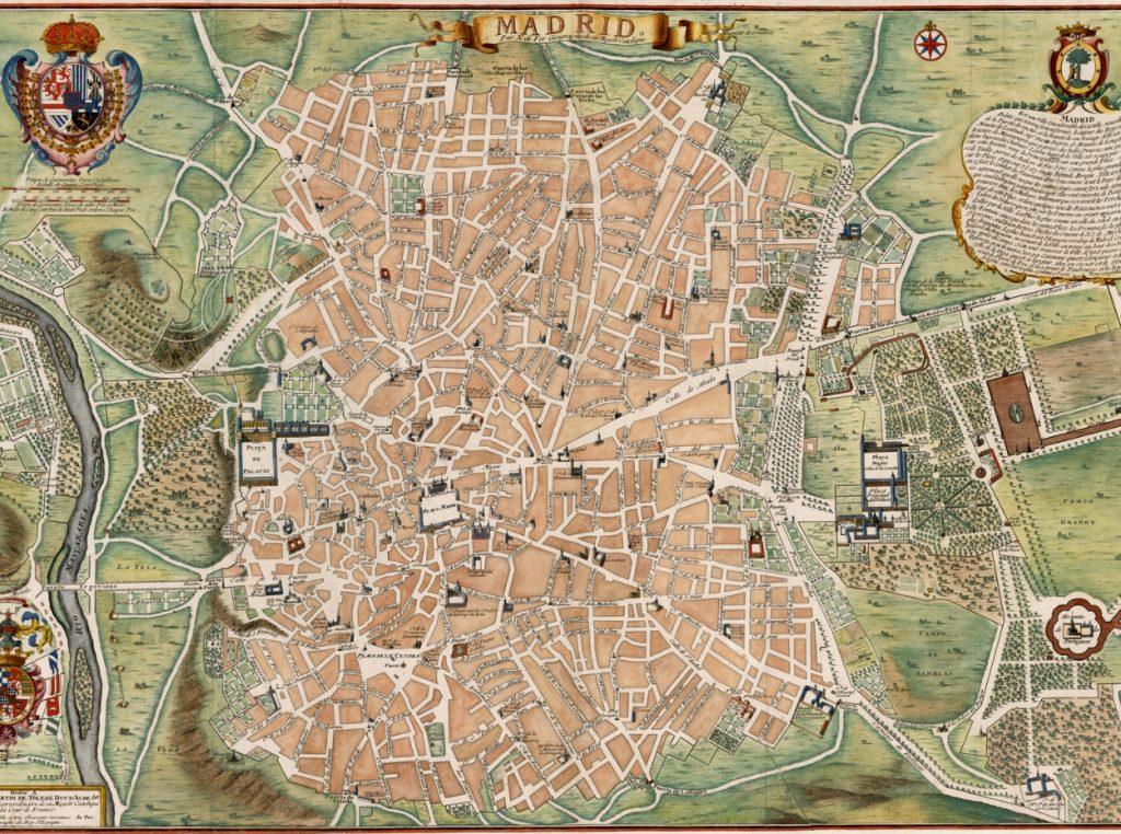 Centro De Madrid Mapa.Mapa De Madrid Mapa Turistico Y Guia Util De La Ciudad De