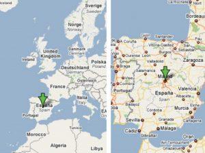 mapa de madrid españa