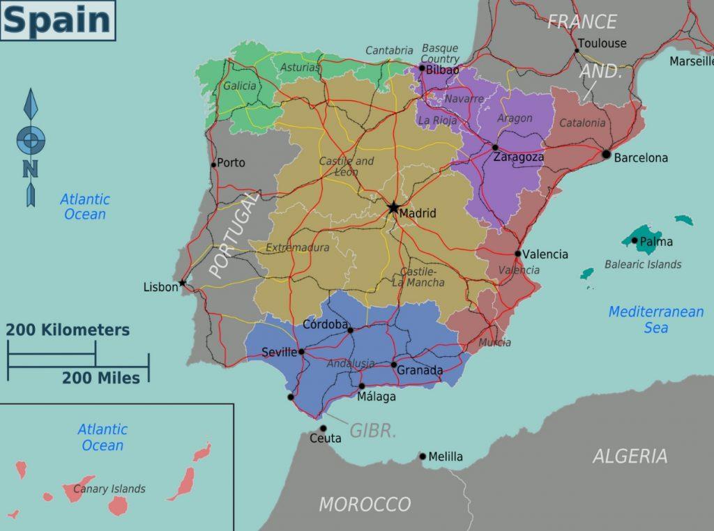 Barcelona En El Mapa.Mapa De Barcelona Turismo Org Sitios Turiticos Distritos Planos