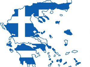 mapa de grecia para dibujar