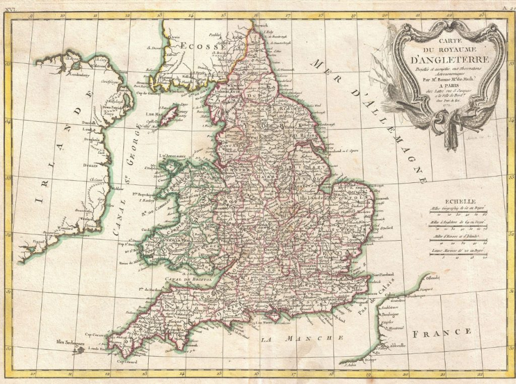 Plano de Inglaterra
