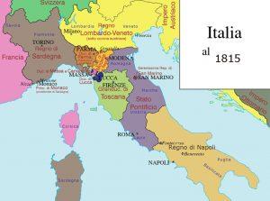 mapa de italia ciudades turisticas