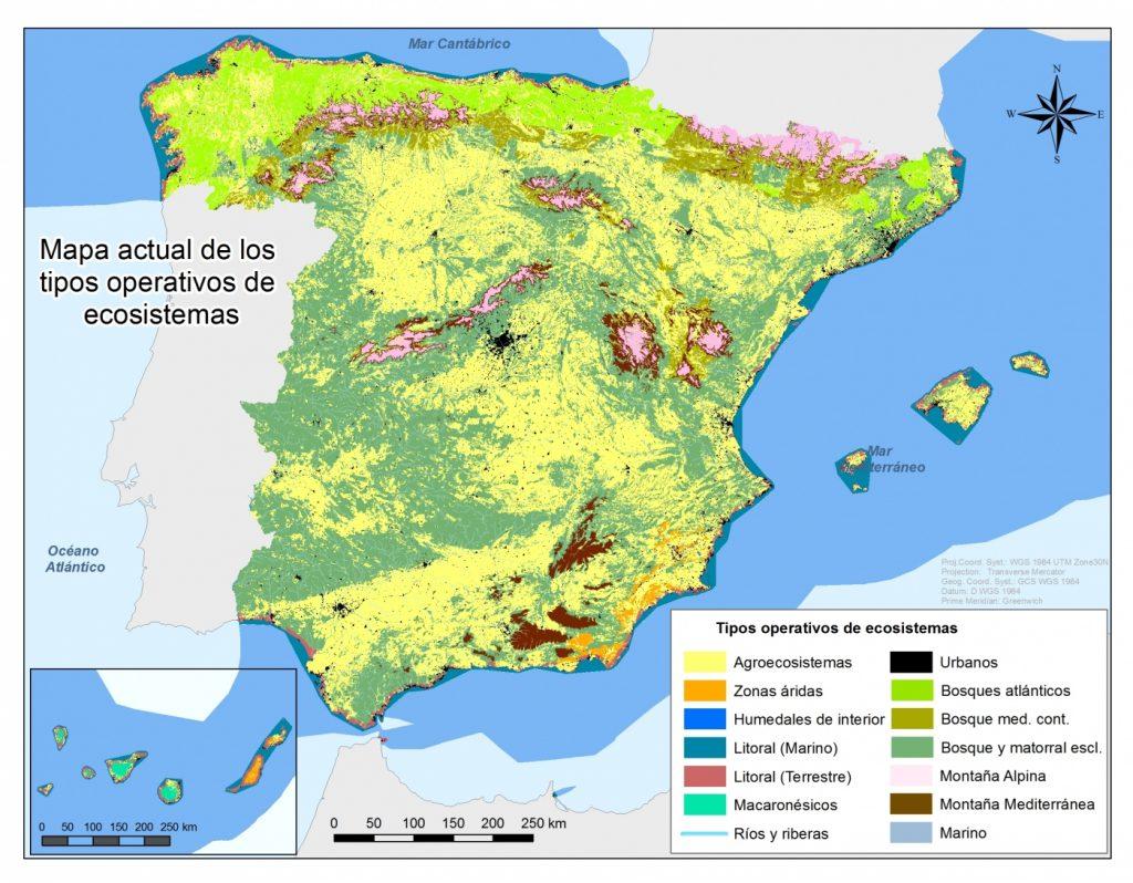 Mapa-de-ecosistemas-de-Espana