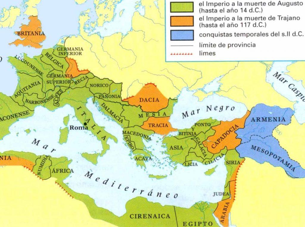 Plano del Imperio Romano