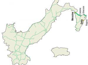 mapa de italia provincias