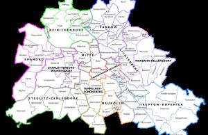 Distritos administrativos de Berlín