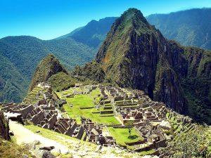 Pérou, le Machu Picchu, cité Inca dans les Andes centrales.