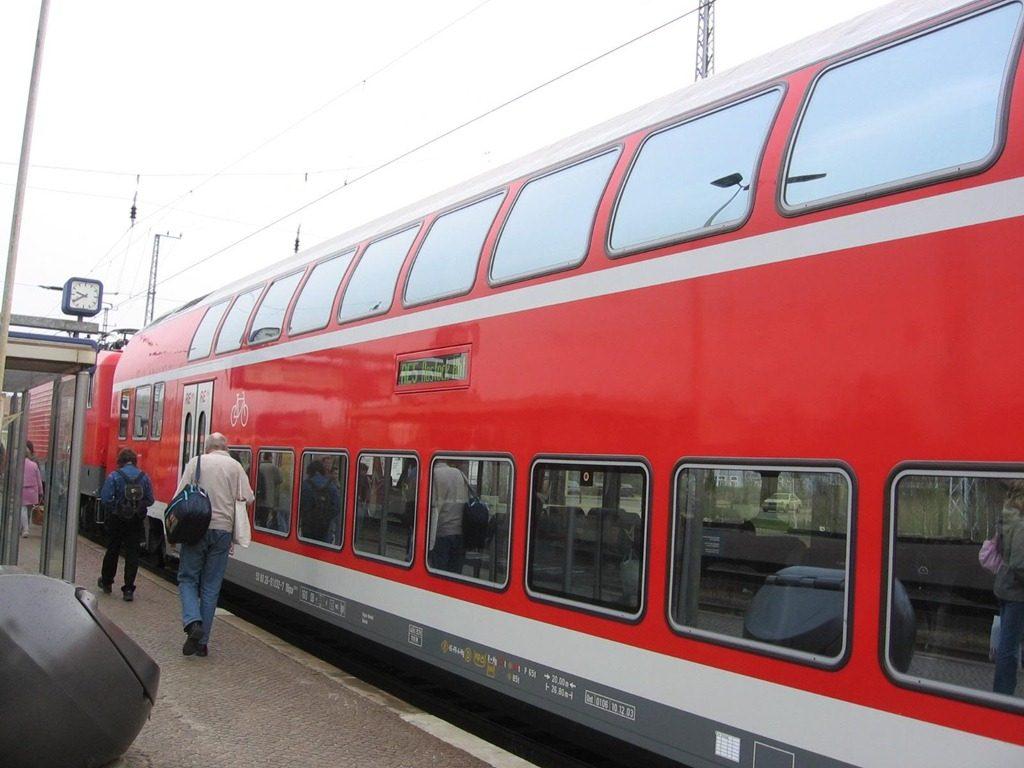 Transporte de Tren en Alemania