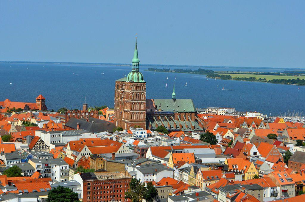 Vista de la ciudad de Stralsund