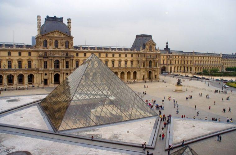 Vista del Museo de Louvre