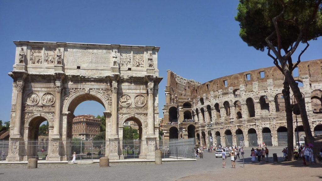 Arco de Constantino 10