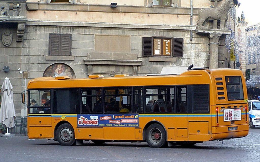 Autobuses en Italia 1
