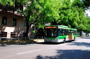 Autobuses en Milán 1