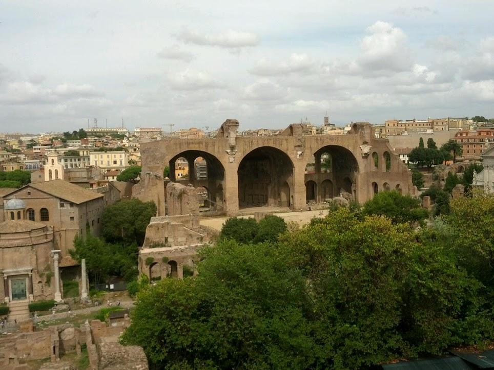 Basílica de Majencio 3