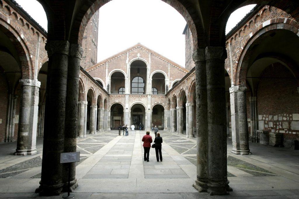 Basílica de san Ambrosio 1