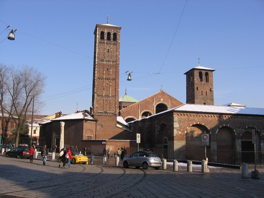 Basílica de san Ambrosio 7