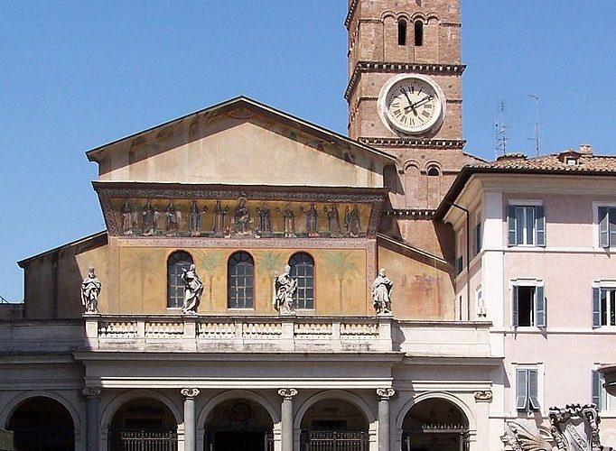 Basílica de Santa María en Trastevere 1