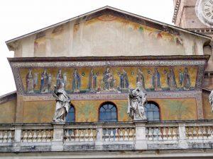 Basílica de Santa María en Trastevere 3