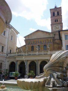 Basílica de Santa María en Trastevere 7