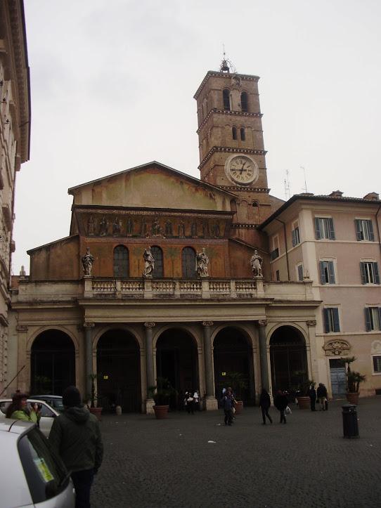 Basílica de Santa María en Trastevere 8