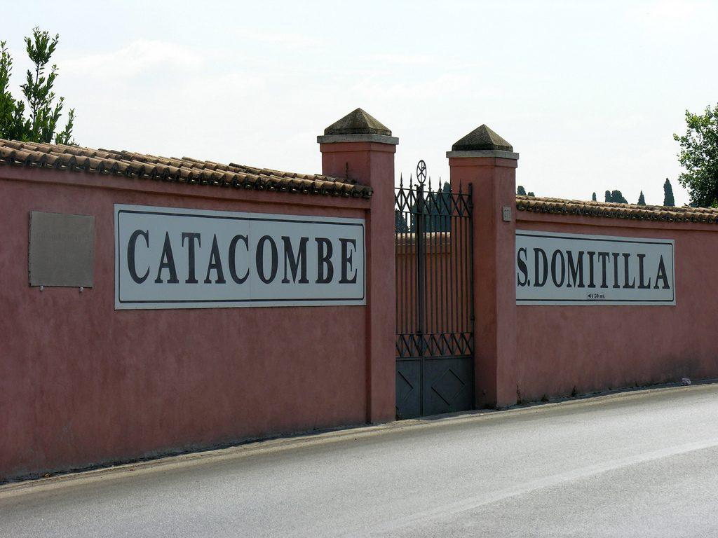 Catacumbas de Domitila 4