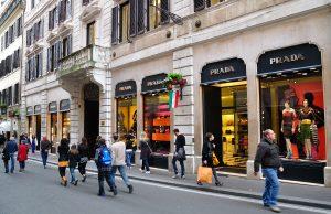 Cómo hacer compras en Italia