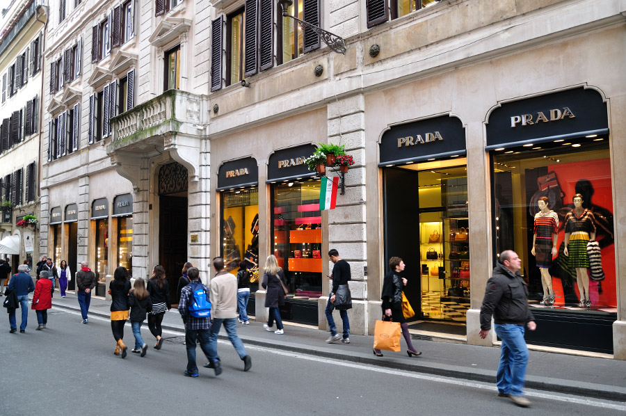 Compras en Roma 1