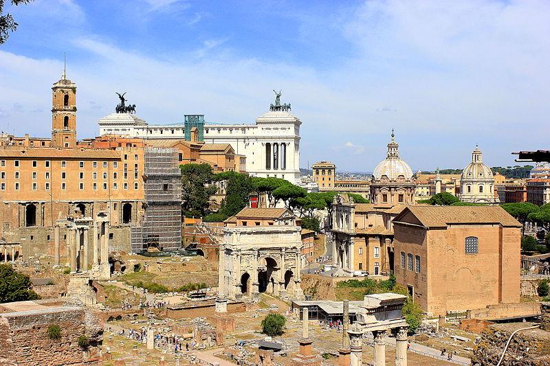 Foro Romano y Palatino 1