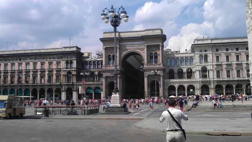 Galleria Vittorio Emanuele II 1