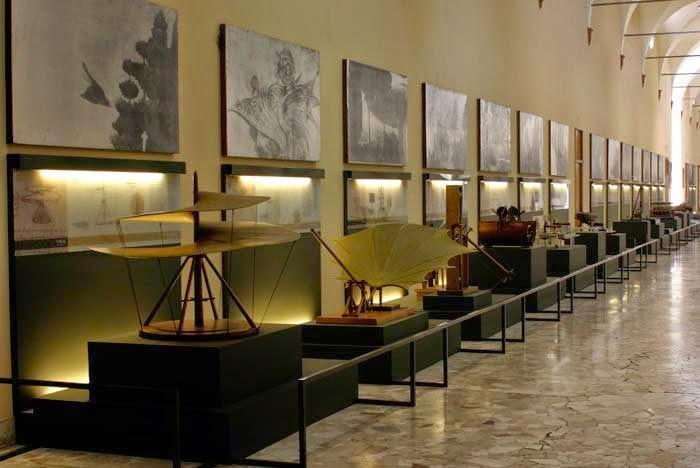 Museo nazionale della scienza e della tecnologia Leonardo da Vinci 12