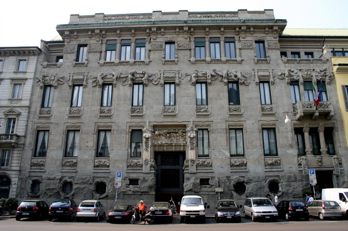 Palacio Castiglioni - autor