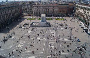 Plazas de Milán
