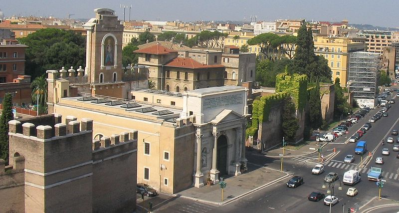 Puerta Pía de Roma