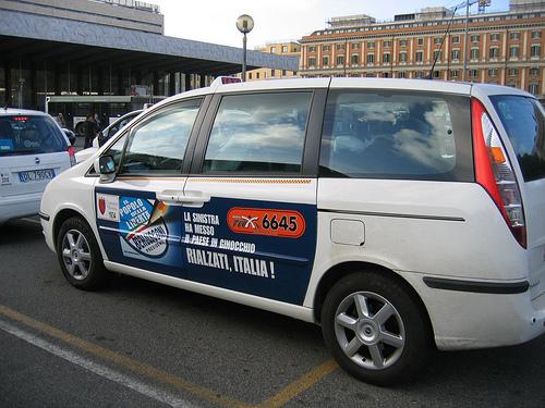 Taxis en Italia 1