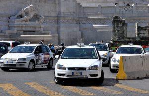 Taxis en Roma