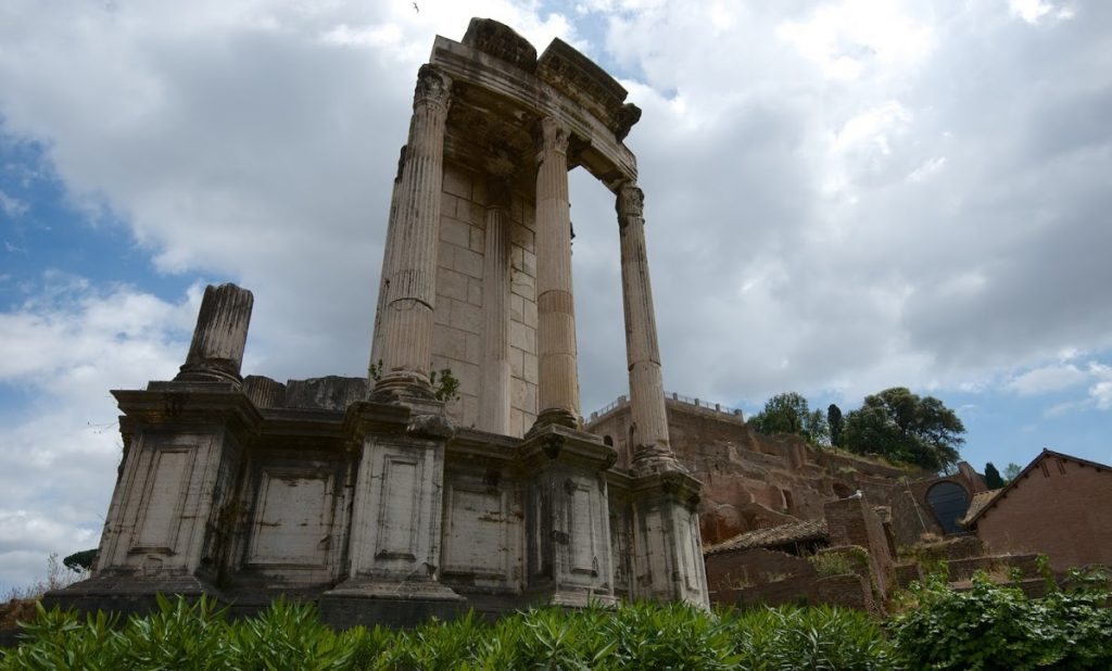 Templo de Vesta 3