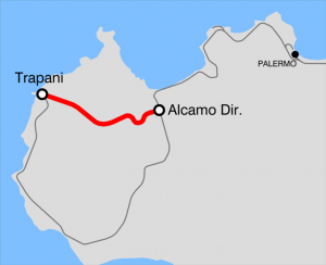 Mapa del Tren Alcamo