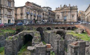 Anfiteatro romano de Catania 1