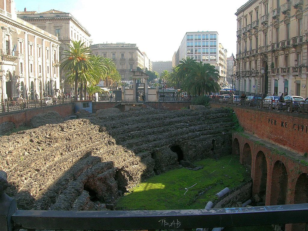 Anfiteatro romano de Catania 2