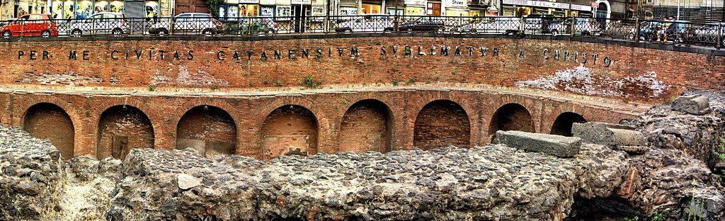 Anfiteatro romano de Catania 3