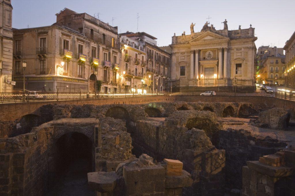 Anfiteatro romano de Catania 4