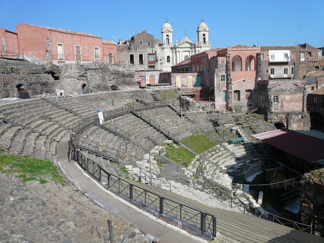Anfiteatro romano de Catania 5