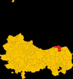 Mapa de Cefalù