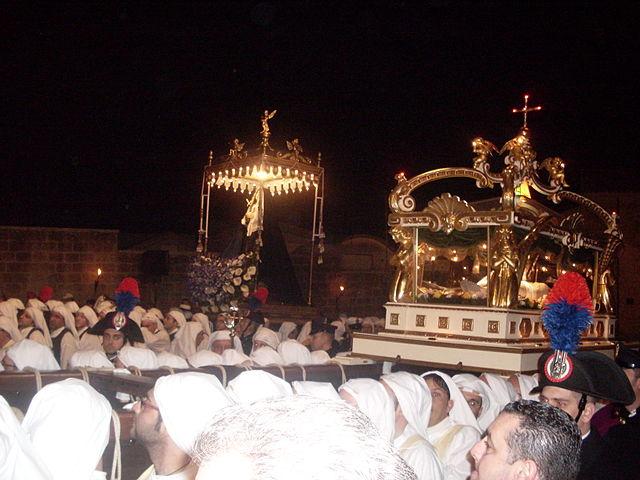 Semana Santa en la ciudad de Enna