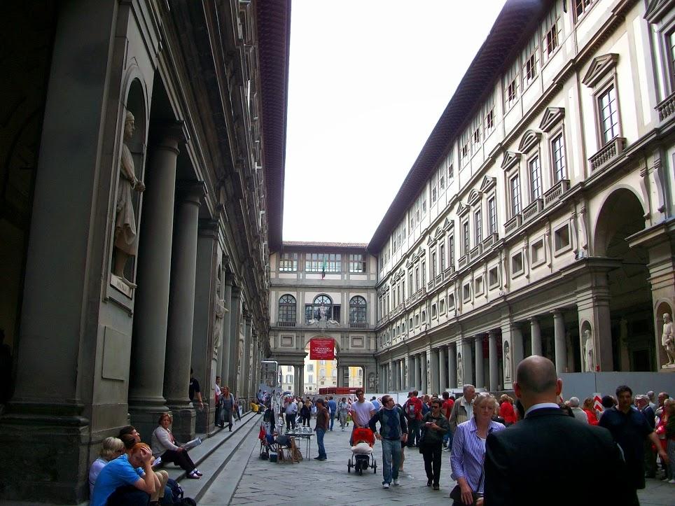 Galería Uffizi 3