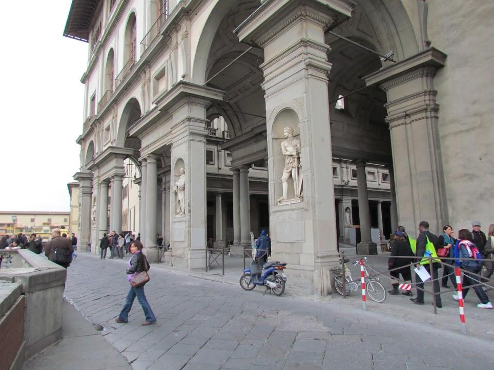 Galería Uffizi 6