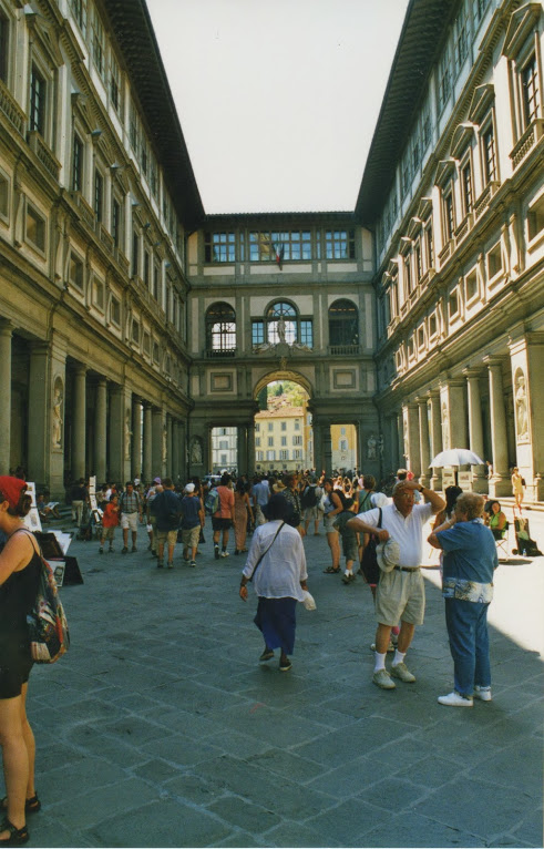 Galería Uffizi 8